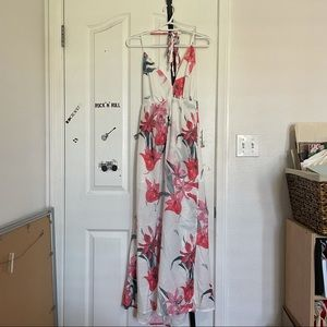 NWT Simplee Floral Maxi Summer Dress Size S